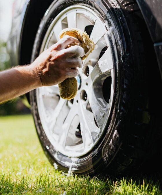 lavaggio pneumatici